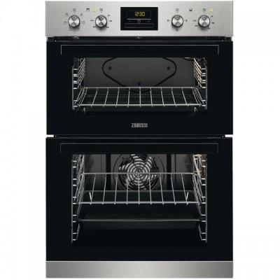Save £60 at AO on Zanussi ZOD35621XK Built In Double Oven - Stainless Steel - A/A Rated