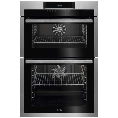 Save £130 at Appliance City on AEG DCE731110M Built In Multifunction Double Oven - STAINLESS STEEL