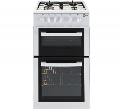 Save £50 at Currys on FLAVEL FTCG50W Gas Cooker - White, White