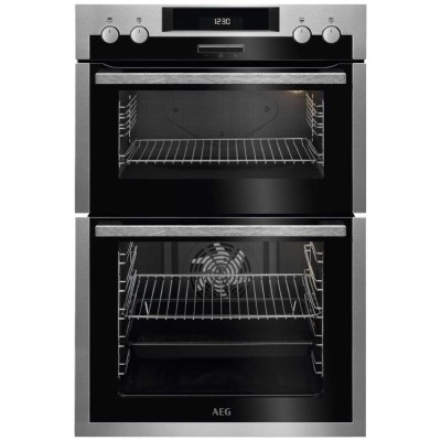 Save £120 at Appliance City on AEG DCS431110M Built In Multifunction Double Oven - STAINLESS STEEL
