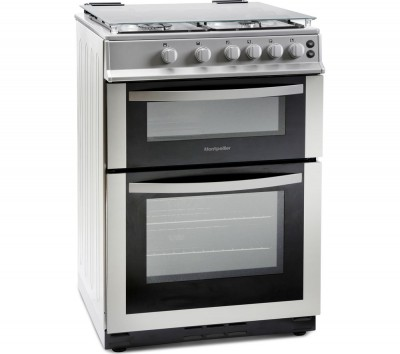 Save £40 at Currys on MONTPELLIER MDG600LS 60 cm Gas Cooker - Silver, Silver