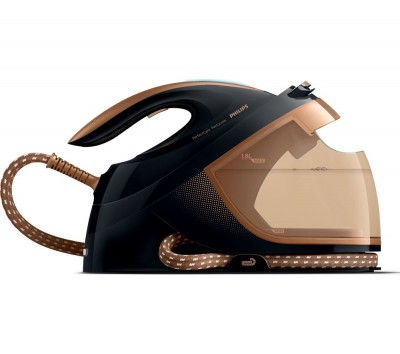 Save £51 at Currys on PHILIPS PerfectCare Performer GC8755/86 Steam Generator Iron - Black Copper, Black