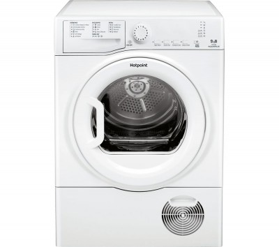Save £70 at Currys on HOTPOINT Aquarius TCFS 93B GP 9 kg Condenser Tumble Dryer - White, White