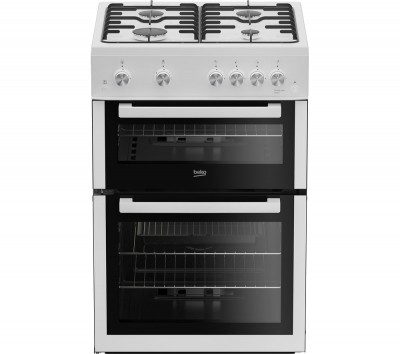Save £50 at Currys on Pro XDG611W 60 cm Gas Cooker - White, White