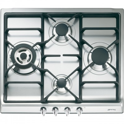 Save £60 at AO on Smeg Cucina SR60GHS 60cm Gas Hob - Stainless Steel