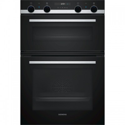 Save £199 at AO on Siemens IQ-500 MB557G5S0B Built In Double Oven - Stainless Steel - A/B Rated