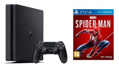 Save £51 at Ebuyer on Sony 1TB Black PS4 with Marvel's Spiderman