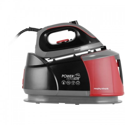 Save £29 at AO on Morphy Richards Power Steam Elite With AutoClean 332013 Pressurised Steam Generator Iron - Black / Red
