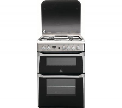 Save £60 at Currys on INDESIT ID60G2X 60 cm Gas Cooker - Stainless Steel, Stainless Steel