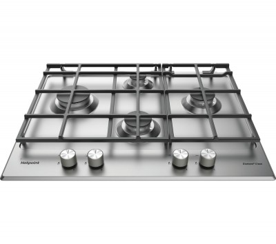 Save £30 at Currys on HOTPOINT PKL 641 EX/H Gas Hob - Stainless Steel, Stainless Steel
