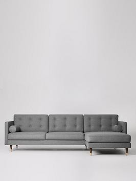 Save £410 at Very on Swoon Porto Fabric Right Hand Sofa