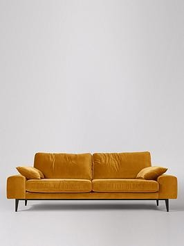 Save £290 at Very on Swoon Tulum Fabric 3 Seater Sofa