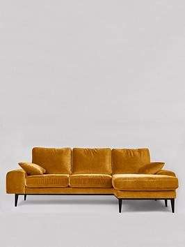 Save £360 at Very on Swoon Tulum Fabric Right Hand Corner Sofa