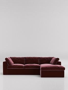 Save £420 at Very on Swoon Seattle Fabric Right Hand Corner Sofa