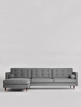 Save £410 at Very on Swoon Porto Fabric Left Hand Sofa