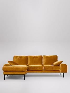 Save £360 at Very on Swoon Tulum Fabric Left Hand Corner Sofa