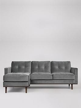 Save £360 at Very on Swoon Berlin Fabric Left Hand Corner Sofa