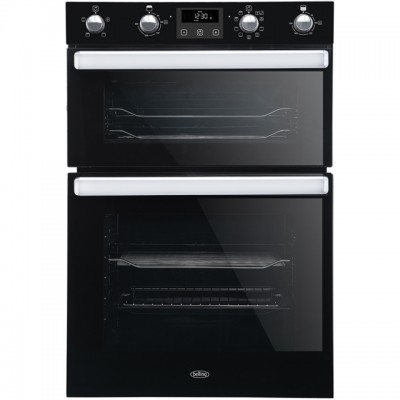 Save £60 at AO on Belling BI902MFCT Built In Double Oven - Black - A/A Rated