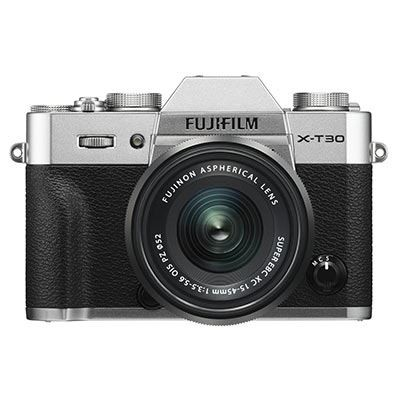 Save £200 at WEX Photo Video on Fujifilm X-T30 Digital Camera with XC 15-45mm Lens - Silver
