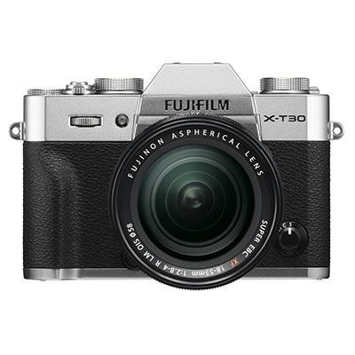 Save £300 at WEX Photo Video on Fujifilm X-T30 Digital Camera with XF 18-55mm Lens - Silver
