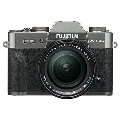 Save £300 at WEX Photo Video on Fujifilm X-T30 Digital Camera with XF 18-55mm Lens - Charcoal Grey