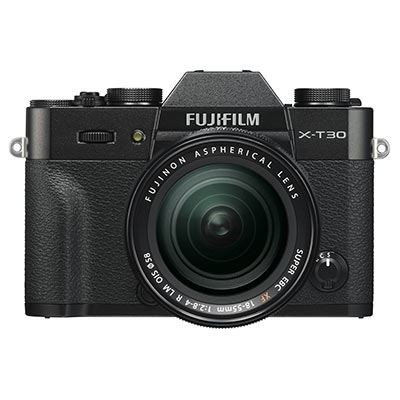 Save £200 at WEX Photo Video on Fujifilm X-T30 Digital Camera with XF 18-55mm Lens - Black