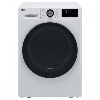 Save £199 at AO on LG V9 FDV909W Wifi Connected 9Kg Heat Pump Tumble Dryer - White - A+++ Rated