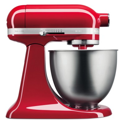 Save £50 at Appliance City on KitchenAid 5KSM3311XBER Mini Tilt-Head Stand Mixer 3.3 Litre - EMPIRE RED