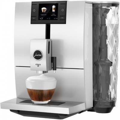 Save £345 at AO on Jura ENA 8 15314 Bean to Cup Coffee Machine - White