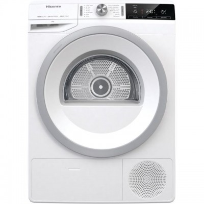 Save £70 at AO on Hisense DHGA80 8Kg Heat Pump Tumble Dryer - White - A++ Rated