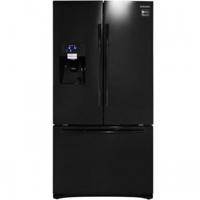 Save £190 at AO on Samsung G-Series RFG23UEBP American Fridge Freezer - Black - A+ Rated