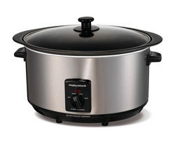 Save £4 at Currys on MORPHY RICHARDS 48705 Sear and Stew Slow Cooker - Stainless Steel