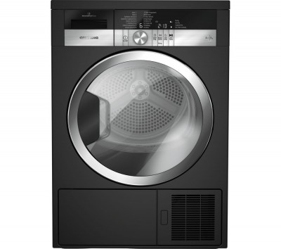 Save £100 at Currys on Grundig Tumble Dryer GTN38250MGCB 8 kg Heat Pump - Black, Black