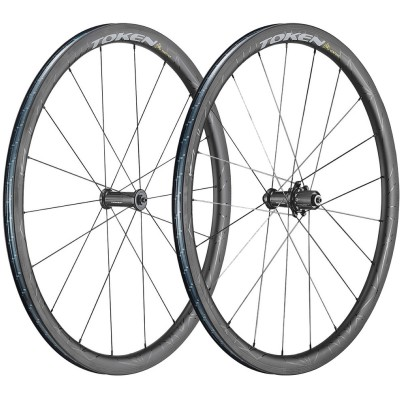 Save £154 at Wiggle on Token Zenith Ventous 36mm Carbon Wheelset Wheel Sets
