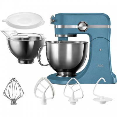 Save £50 at AO on AEG Ultramix KM5560 Stand Mixer with 4.8 Litre Bowl - Blue