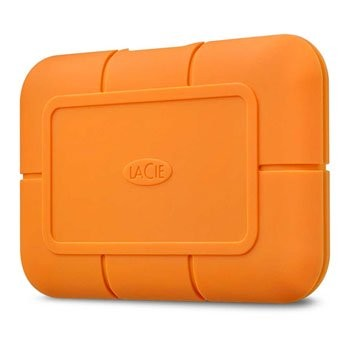 Save £22 at Scan on LaCie Rugged 500GB External FireCuda NVMe SSD - Orange