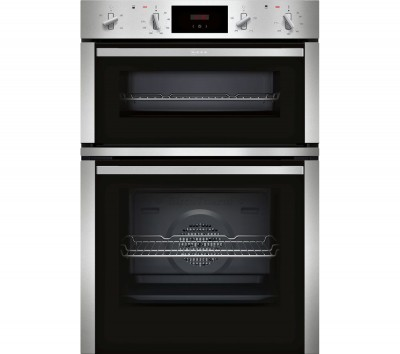 Save £200 at Currys on NEFF N30 U1CHC0AN0B Electric Double Oven - Stainless Steel, Stainless Steel
