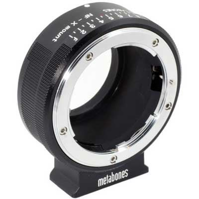 Save £16 at WEX Photo Video on Metabones Adapter- Nikon G to Fujifilm X