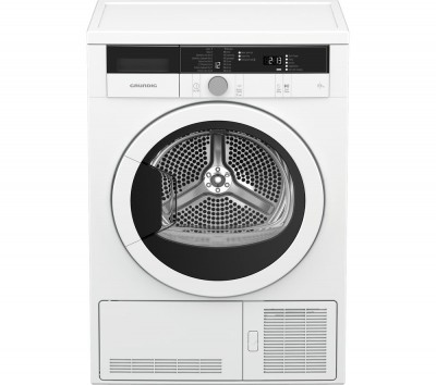 Save £80 at Currys on Grundig Tumble Dryer GTN28110GW 8 kg Condenser - White, White