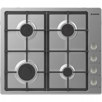 Save £49 at AO on Hoover H-HOB 300 GAS HHG6LSX 60cm Gas Hob - Stainless Steel