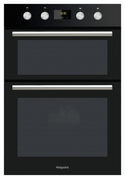 Save £80 at Argos on Hotpoint DD2844CBL Built In Double Electric Oven - Black