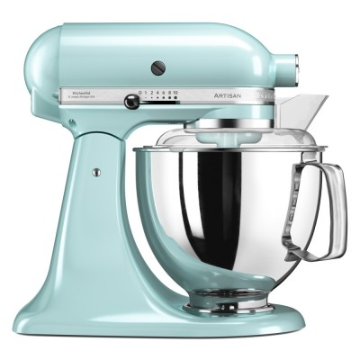 Save £50 at Appliance City on KitchenAid 5KSM175PSBIC 175 Artisan Stand Mixer 4.8 Litre - ICE BLUE