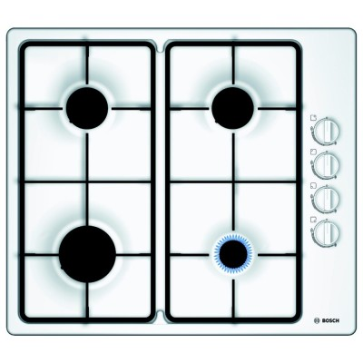 Save £60 at Appliance City on Bosch PBP6B2B60 Serie 2 60cm 4 Burner Gas Hob - WHITE