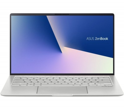 "Save £140 at Currys on ASUS ZenBook 14 UM433 14"" Laptop - AMD Ryzen 5, 256 GB SSD, Silver, Silver"