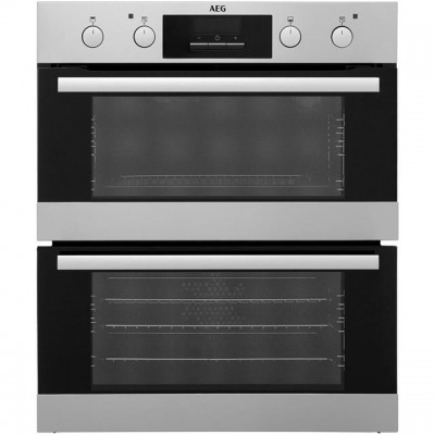 Save £80 at AO on AEG DUB331110M Built Under Double Oven - Stainless Steel - A/A Rated