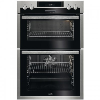 Save £90 at AO on AEG DCS431110M Built In Double Oven - Stainless Steel - A/A Rated