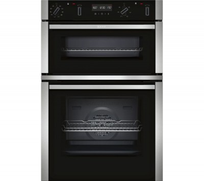 Save £150 at Currys on NEFF U2ACM7HN0B Electric Double Oven - Stainless Steel, Stainless Steel