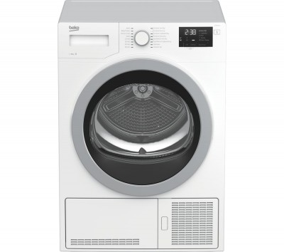 Save £50 at Currys on Beko Tumble Dryer DCX83120W 8 kg Condenser - White, White