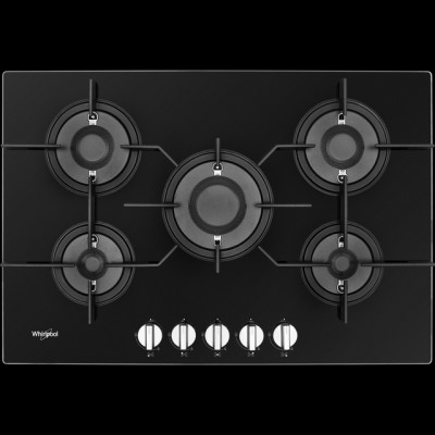 Save £70 at AO on Whirlpool W Collection POW75D2/NB 75cm Gas Hob - Black