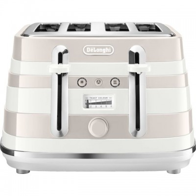 Save £32 at AO on De'Longhi Avvolta CTAC4003W 4 Slice Toaster - White